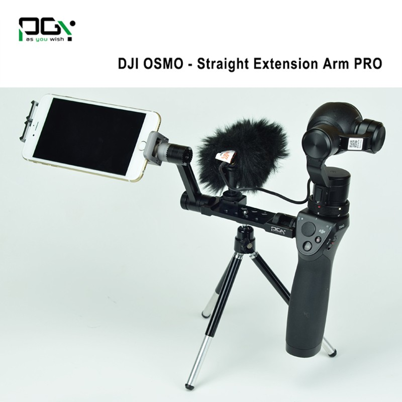 PGY DJI OSMO X3 X5 accessories Straight Extension Arm PRO Handheld 4K Stabilizer drone Original 3-Axis Gimbal Upgrade Quadcopter
