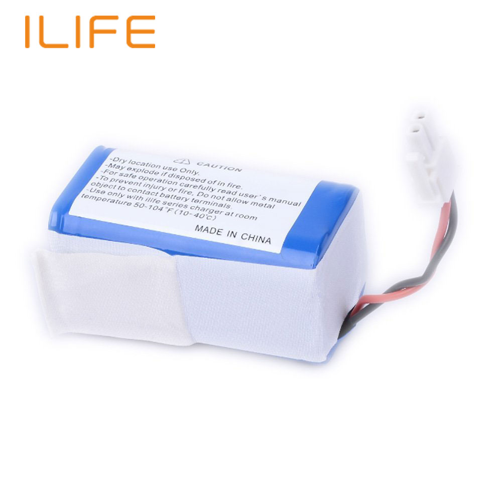 Original High quality ILIFE A4 Power Supply Robot Vacuum Cleaner Batterypack 2600mAh Li-ion Rechargeable Battery Replacement(China (Mainland))