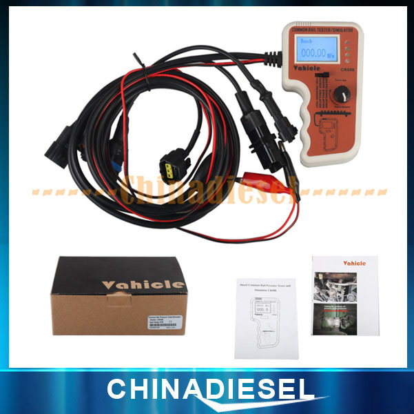 Latest 24V Heavy Duty Disel Engine Truck CR508 Common Rail Pressure Tester and Simulator(China (Mainland))