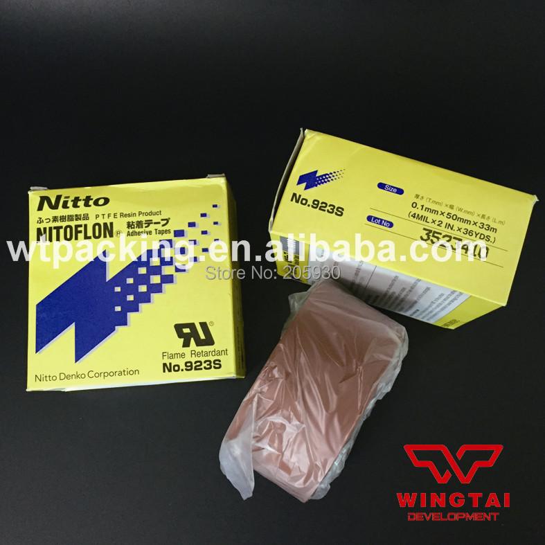 Aliexpress.com : Buy T0.10mm*W50mm*L33m NITTO PTFE Nitoflon Adhesive Heat Resistance Tape 923S