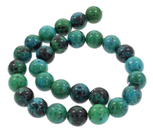 Buy YYW Fashion Natural Chrysocolla Stone Beads 4/6/8/10/12/14mm Round Loose Accessories Beads DIY Designer Jewelry Stone Beads for $1.07 in AliExpress store