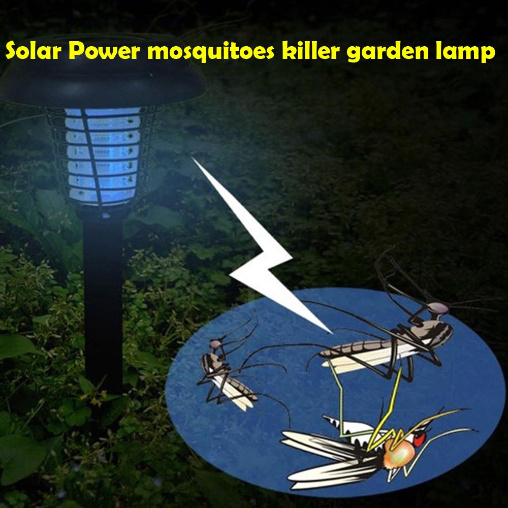 Uv Led Solar Powered Outdoor Yard Garden Lawn Anti