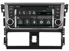 FOR TOYOTA YARIS/VIOS 2014 CAR DVD Player car stereo car audio head unit Capacitive Touch Screen SWC DVR car multimedia