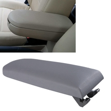 2015 Grey Arm Rest Cover Center Console Armrest Lid For VW Jetta Bora Polo Golf MK4 99-04 with Safe Package Bengear(China (Mainland))