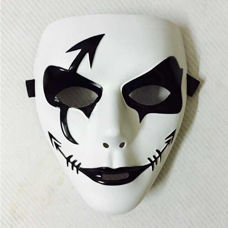 Armadillo Girl Trot-ghost-mask-hand-painted-Halloween-masks-hip-hop-dancers-Cool-cosplay-mask