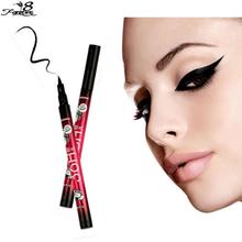 News 2016 Hot sell waterproof Black Eyeliner Liquid Make Up Beauty Eye Liner Pencil High Quality NEW Beauty Cosmetic(China (Mainland))
