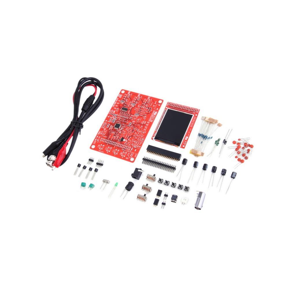 DIY Digital Oscilloscope Kit osciloscopio Electronic Learning Kit DSO138 kit 2.4 1Msps usb handheld oscilloscope<br><br>Aliexpress