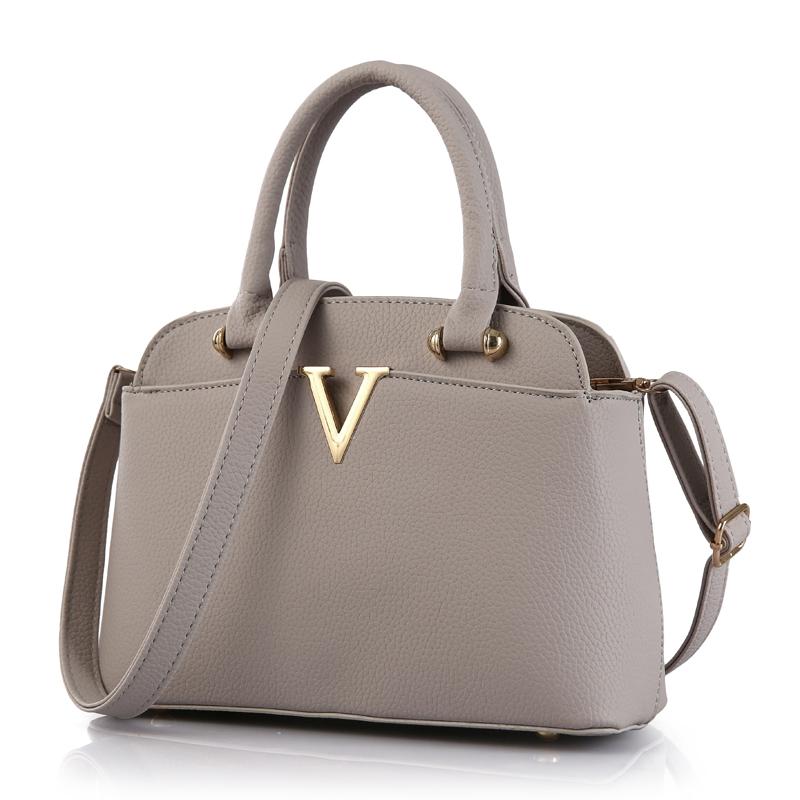 High quality women shoulder bag 2016 new Korean fashion sweet women handbag. Large-capacity solid bag.27*20*12(China (Mainland))