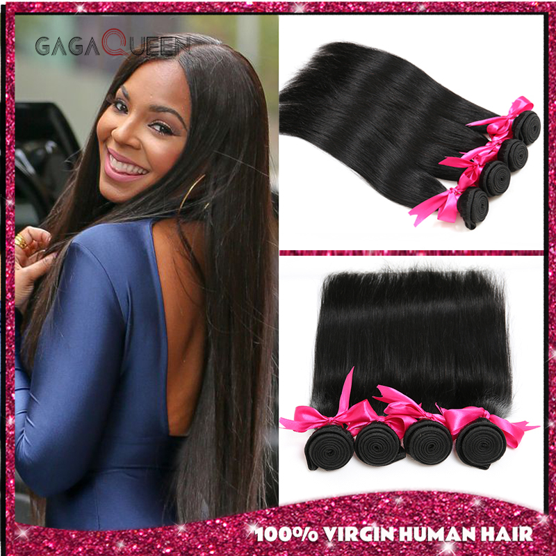 Grade 7a Peruvian Virgin Hair Straight 4 Bundes 8-28 Inch Cheap Straight Human Hair Bundles Guangzhou Hot Beauty Hair Products(China (Mainland))