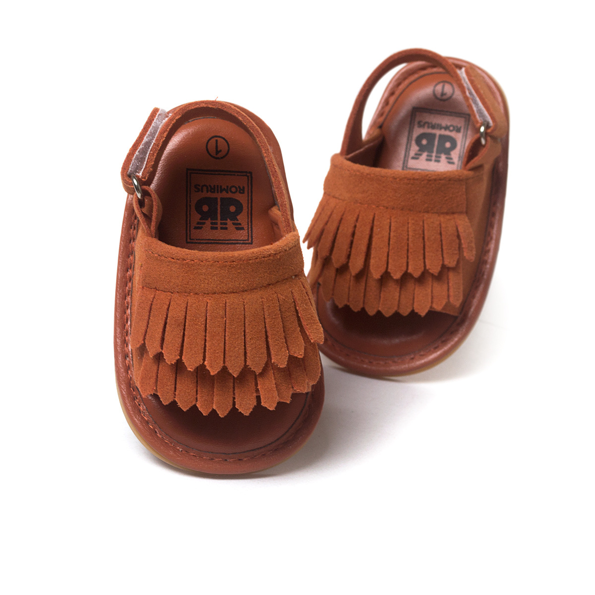ROMIRUS 2016 New Summer Style Baby Moccasins Soft Bottom Fringe Candy Color Girls Toddler Shoes Baby Slippers Boys prewalkers