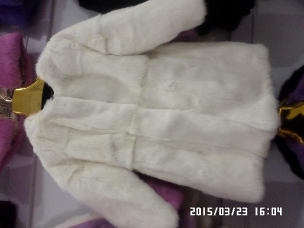 Здесь можно купить  whole skin  Round collar Long the rabbit  Natural fur  dress  Одежда и аксессуары