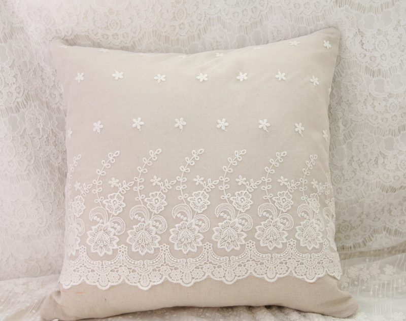 Lace Throw Pillow Covers : lace Pillow Cover Pillow Cover, Decorative Pillow-in Pillow Case from Home & Garden on ...
