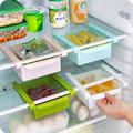 Multifunction Acrylic Refrigerator Organizer Storage Drawer Divider Creative Kitchen Folding Space Saver Fridge Clapboard