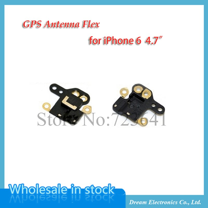 50pcs/lot NEW Gps Flex GPS Antenna Signal Flex Cable For iPhone 6 6G 4.7'' Replacement Repair Parts(China (Mainland))