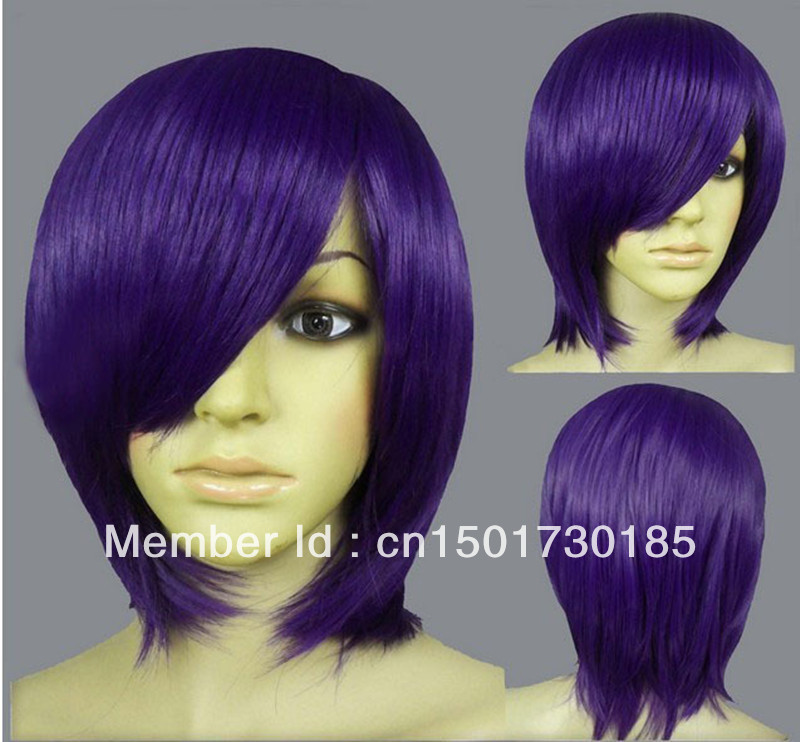 Mouse over image to zoom 2013 Dark Purple Long Layer Bob Cut Short Cosplay DNA(China (Mainland))