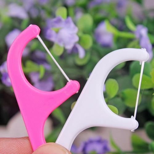 25 шт. устные стоматологической Flosser пластик одноразовые Gum зубы чистая зубочистки ...