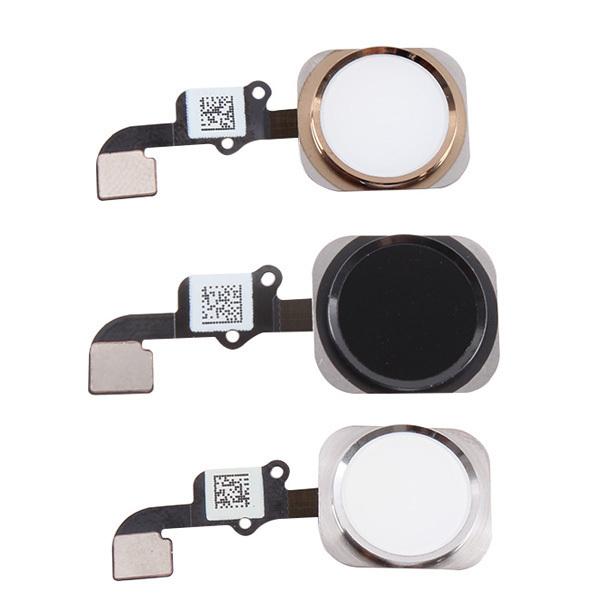 """Здесь можно купить  10Pcs/lot Original Replacement Parts Home Menu Button Flex Cable Assembly with Fingerprint sensor For iPhone 6 4.7"""" 6 plus 5.5  Телефоны и Телекоммуникации"""