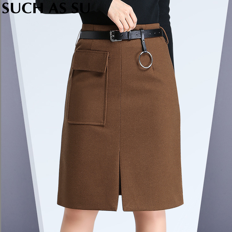 popular plus size brown skirt buy cheap plus size brown