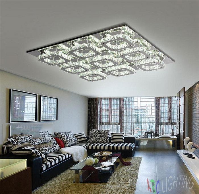 Online kopen wholesale moderne plafonds ontwerpen uit for Lumiere salon decoration