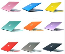 "Cool givré Surface Matte hard Cover Case pour Macbook Air 11 "" 13 "" Pro 13 "" 15 "" Pro Retina 13 "" 15 "" Laptop Case découpe Logo(China (Mainland))"
