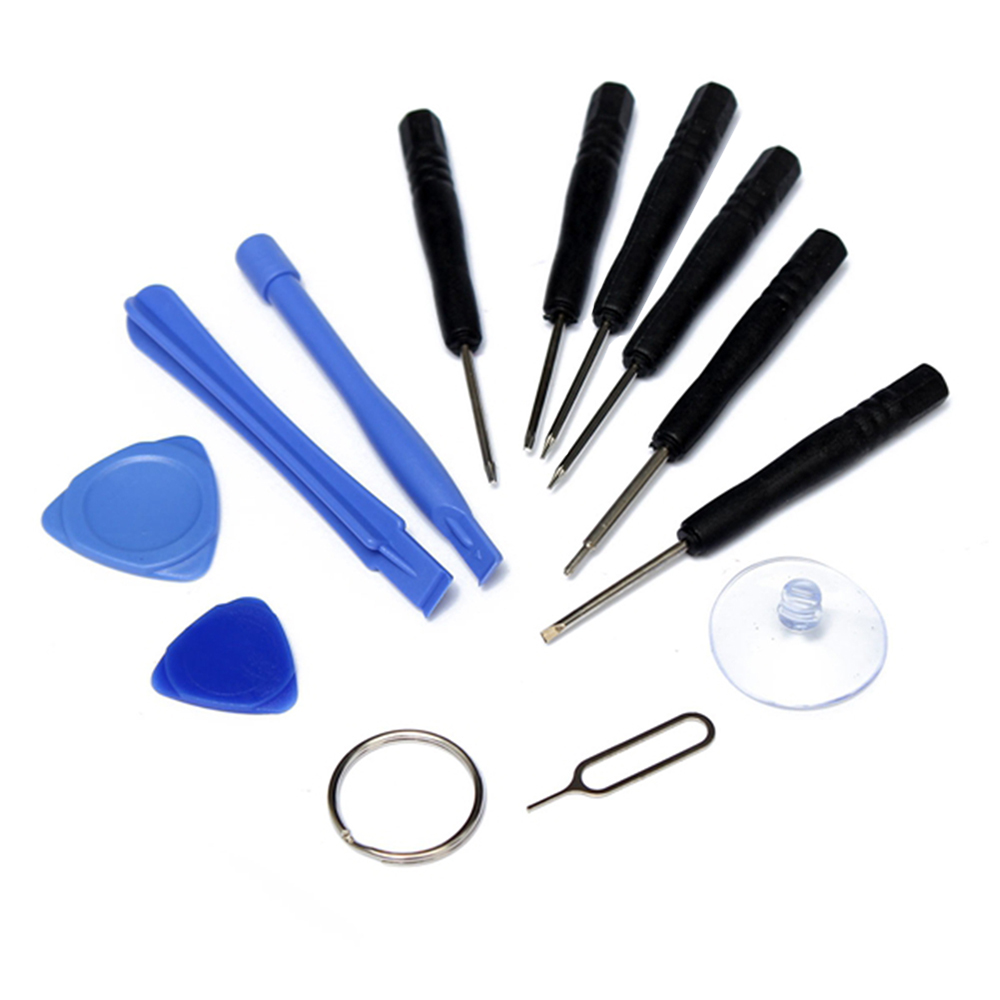 12 In 1 Slotted 2.0 Phillips 1.5 Pentalobe 0.8 1.2 Torx T5 T6 Screwdriver Kit Pry Tool for iPhone 4S 5 5S Samsung PC Repair