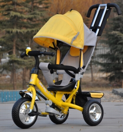 Brand New style Baby child kids tricycle trolley baby stroller carriage bike bicycle 6 monthes-6 years old ride on car toys(China (Mainland))