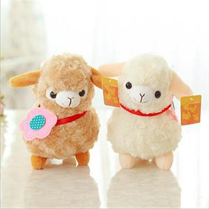 2017 New Practical Alpaca Sheep Plush Toy Soft Plush Alpacasso Baby Plush Stuffed Animals Alpaca Child Gifts(China (Mainland))