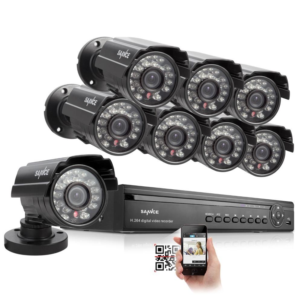 SANNCE 16CH 960H HDMI DVR 700TVL IR Home CCTV Security Cameras System Surveillance kit<br><br>Aliexpress
