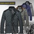 Lesmart Mens Winter Padded Coat Jacket New Arrival Brand Hot Item Warm Windproof Plus Size Argyle