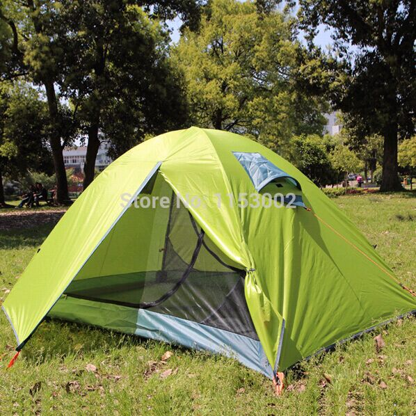 Double Layer 2 person 4 Season Fiberglass Outdoor Camping Tent Beach Tent China Tents Suppliers Wholesale Camping tent(China (Mainland))