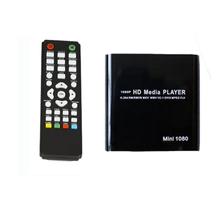 Hot selling 1080P Mini HDD Media Player MKV/H.264/RMVB HD with HOST USB/SD Card Reader(China (Mainland))