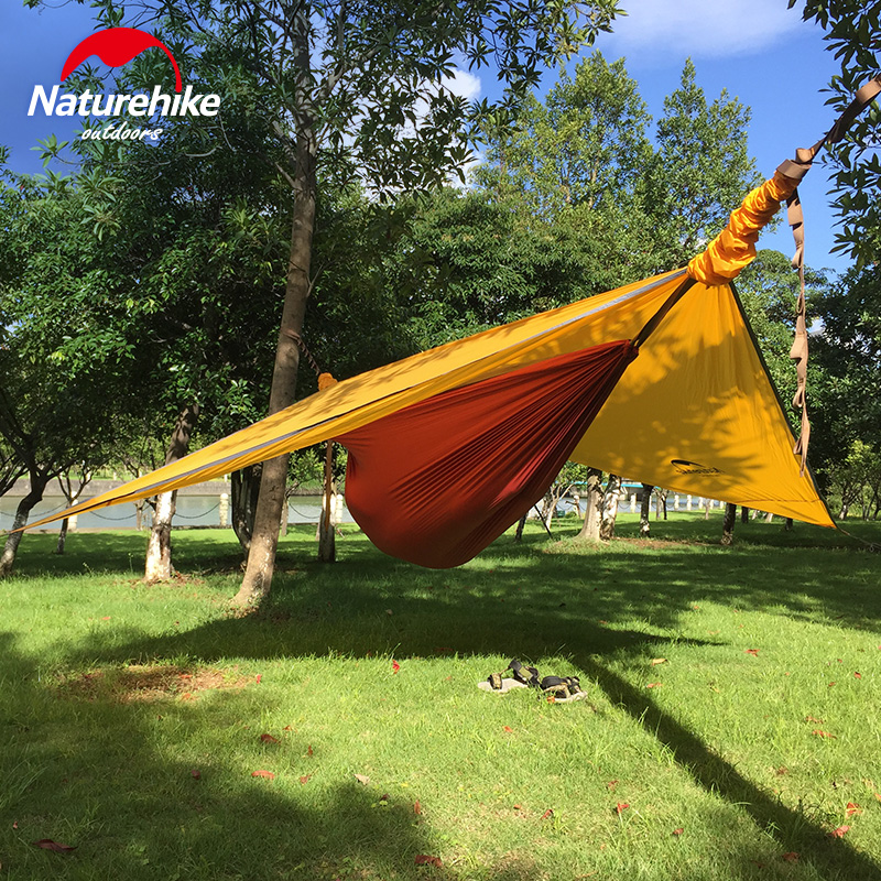 Фотография 1.5KG Naturehike Portable Outdoor Hanging Tree Tent Hammock Tent With Bed Net Mosquito Ultralight Hang Canopy Camping 1 Person