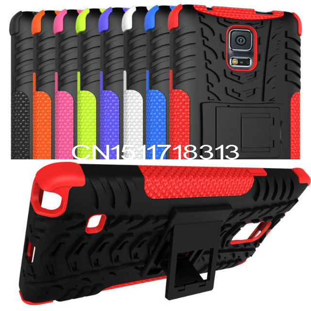 Luruxy SLIM Heavy Duty 2 1 Hybrid Armor CASE Samsung Galaxy Note 4 Rugged Hard PC+TPU Kickstand Cover Note4 Holder - Dean Co.,Ltd store