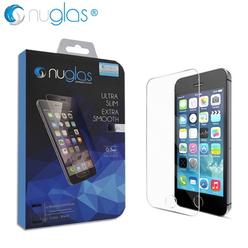 Nuglas Brand Original Tempered Glass Screen Protector for iPhone 5s Case Cover iPhone 5 5c SE Coque for Apple iPhone5 lcd Film(China (Mainland))
