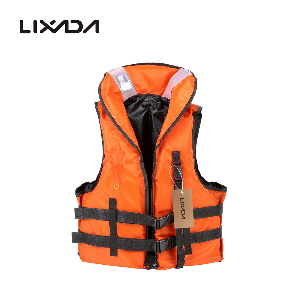 Adult Kayak Life Vest for Fishing EPE Foam Flotation Swimming Safety Life Jacket Vest With Whistle Free Size(China (Mainland))