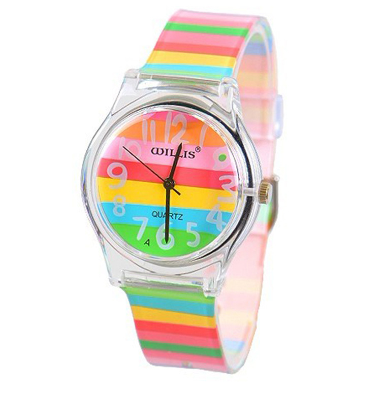 Willis mini women rhinestone watches resin table scrub fashion table waterproof ladies watch child table jelly watches<br><br>Aliexpress