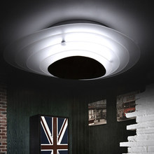 LED Modern Ice Layer White Ceiling Lights Fixture Home Indoor Lighting Bedroom Ceiling Lamps Foyer Dining Room Restaurant Lights(China (Mainland))