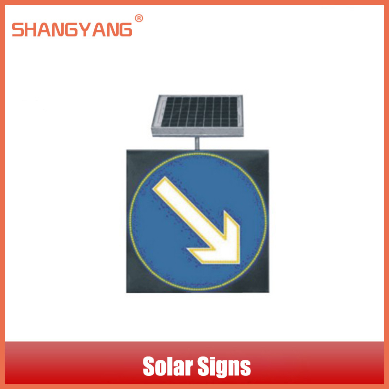 Factory Outlet Brand Solar Arrows Signs LED Lights Traffic Signs Road Signs Light Traffic Guide Mark Traffic Facilities SY-TL018(China (Mainland))