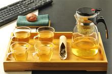Teapot Promotion New 600ml Heat Resistan Glass Teapot simple tea kettle tea pot Convenient Office Tea