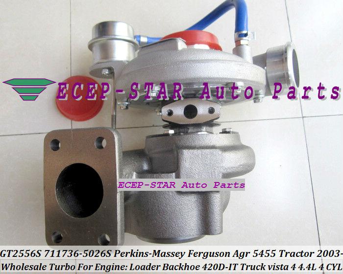 GT2556S 711736-5026S Turbocharger For Perkins Massey Ferguson Agricultural 5455 Tractor 4.4L 03- Loader Backhoe 420D-IT vista 4(China (Mainland))
