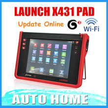 [Launch Authorized Dealer] 100% Original Launch X431 PAD In stock Support 3G Wifi X-431 PAD Launch Update Online Free shipping(China (Mainland))