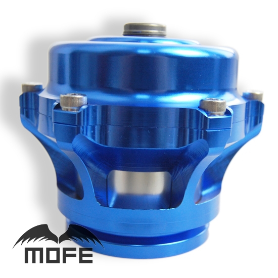 SPECIAL OFFER HIGH QUALITY V Band 50mm Q Blow Off Valve Flange With 10 PSI Spring Blue(China (Mainland))