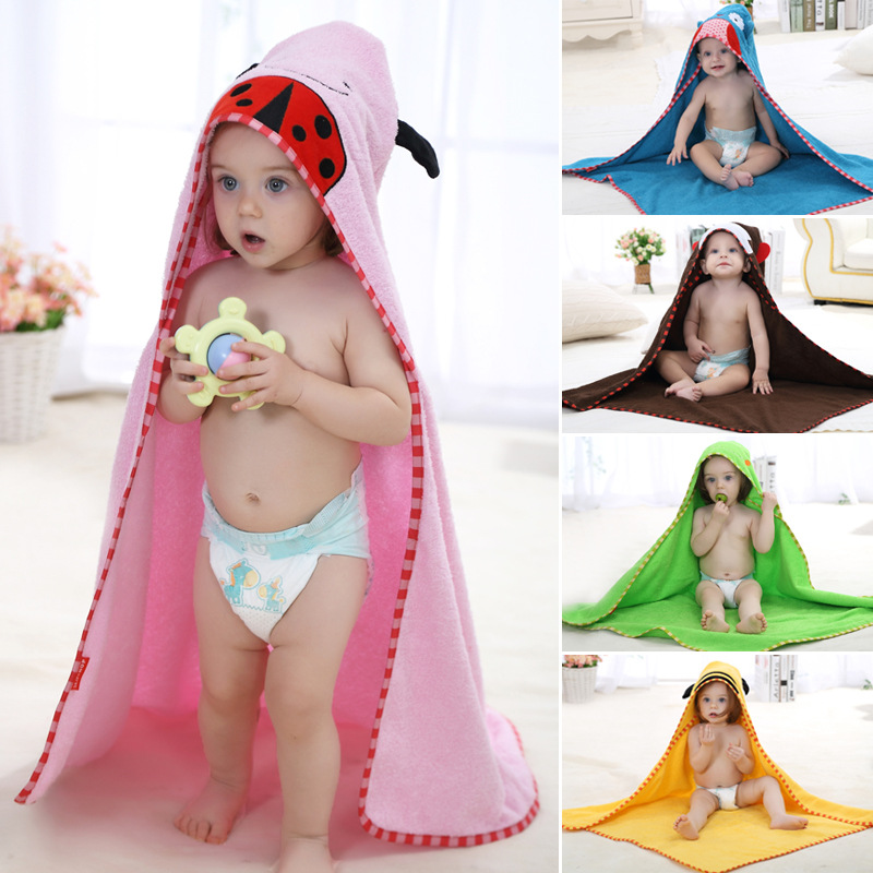 Childrens clothing boys girls Robes new winter spring autumn cartoon baby bathrobe Sleepwear &amp; Robe winter Pink 1 size for 0-6Y<br><br>Aliexpress