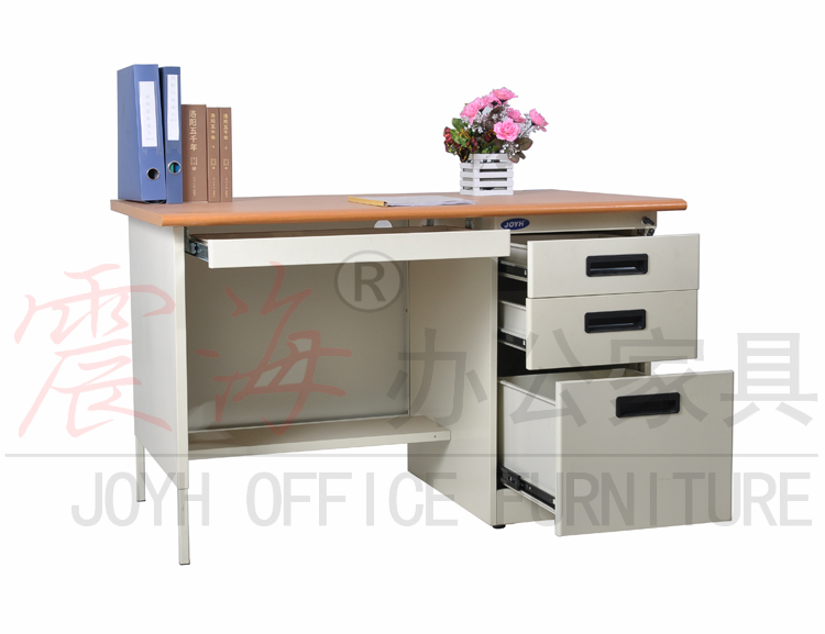 Low price steel office table mdf top metal office desk for for Best low cost furniture