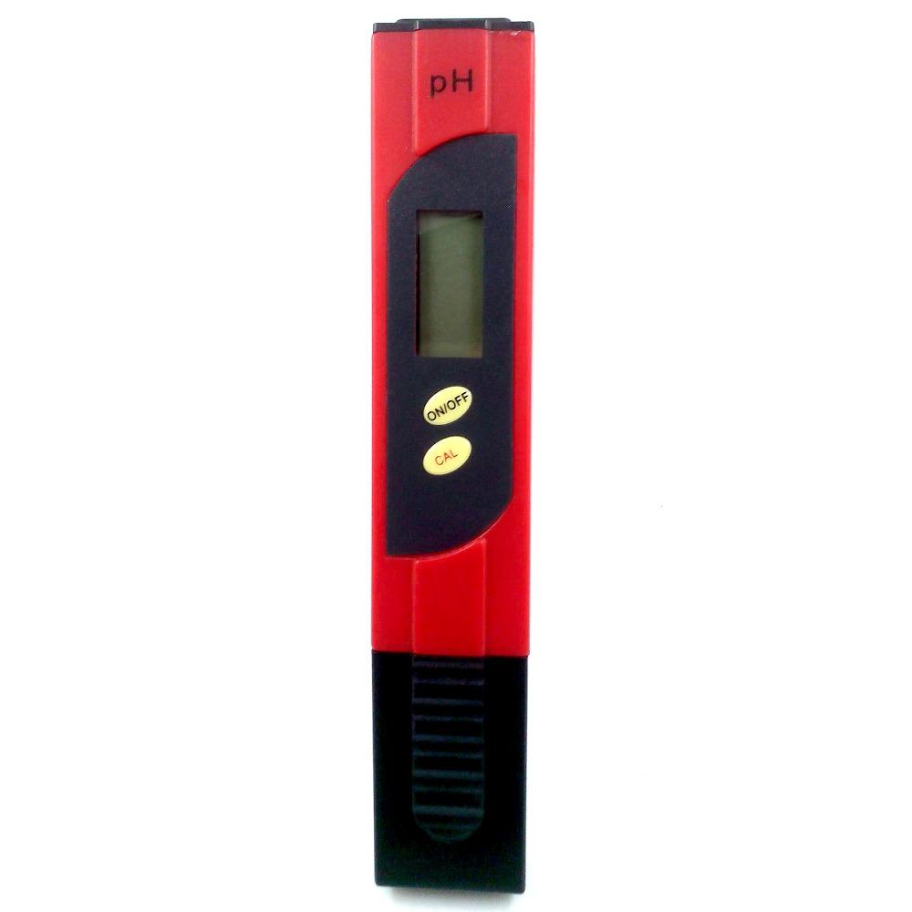 Portable pH meter ph test pen PH tester Soil ph value detection 0.00-14.00ph Precision glass probe Water Quality Analyzers(China (Mainland))
