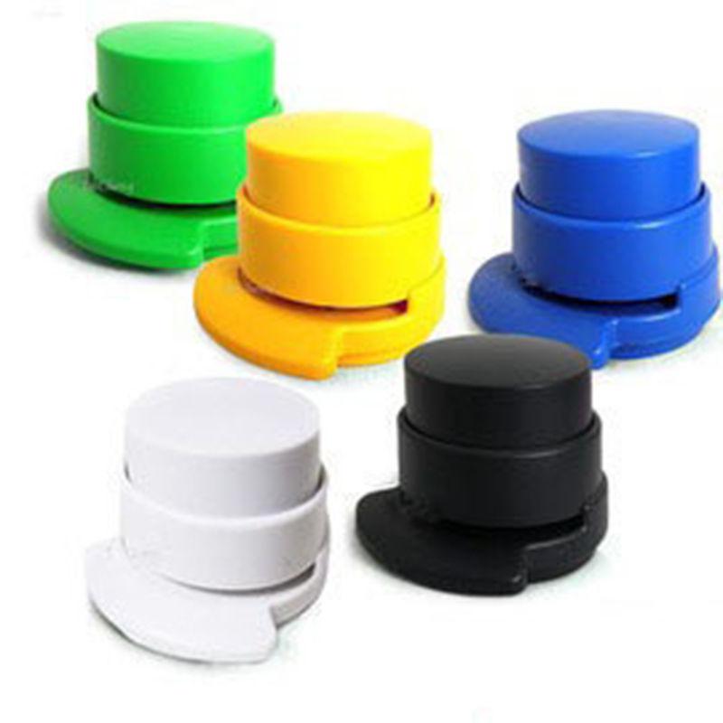 Гаджет  Worldwide Office Home Stapler Paper Binding Staple Free Stapleless Binder Paperclip FreeShipping None Офисные и Школьные принадлежности