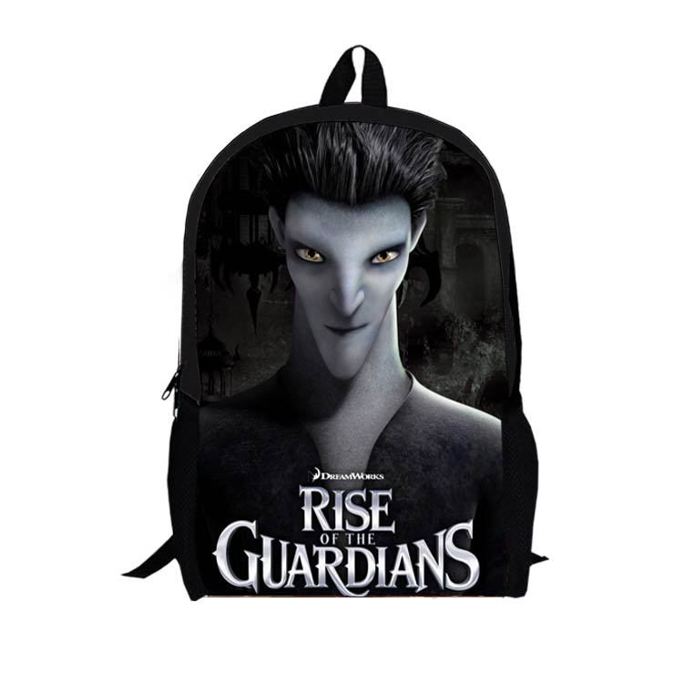 16-inch 2015 Rise of the Guardians of the new child bag student bag shoulder bag vacuum bag A003(China (Mainland))