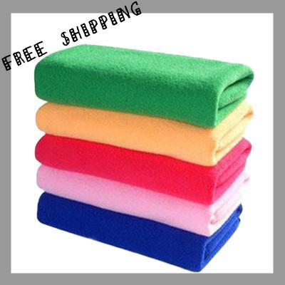 [TOWEL] 30*70cm 50g 10pcs/lot Multifunctional Towel Super Dry Bath Towel Microfiber Magic Hair Towel Ultra Absorbent & Soft Lint(China (Mainland))