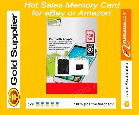 50pcs/lot Customized micro oem 64gb 128gb 8gb memory sd card Class 10/tf flash card with card reader by Original Blister package(China (Mainland))