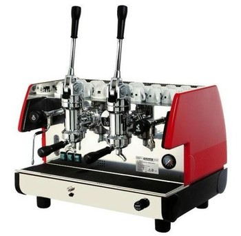 Lapavoni rod-style double slider semi automatic coffee machine professional commercial